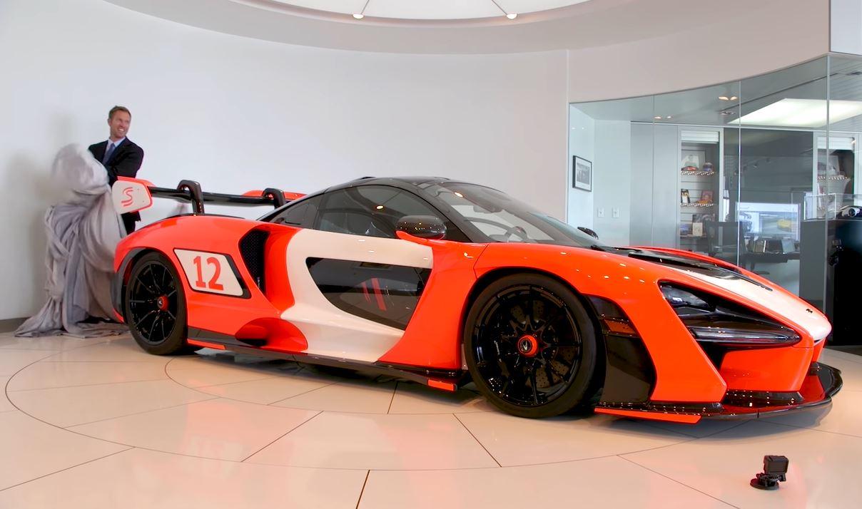McLaren Senna in de juiste kleuren