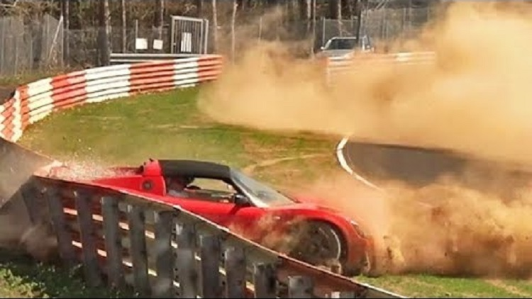 Opel Speedster crash Nordschleife