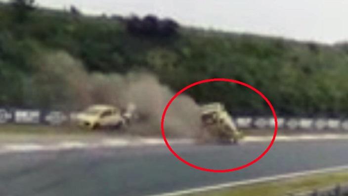 Romy Monteiro crasht ook hard op Circuit Zandvoort