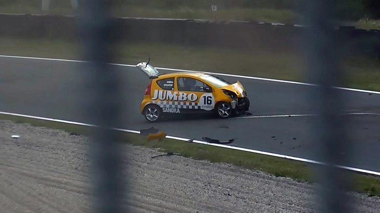 Sandra Schuurhof crash