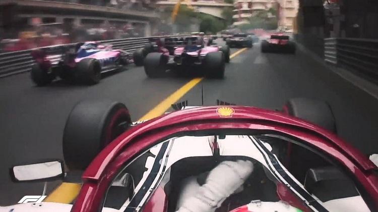 Start F1 Monaco 2019