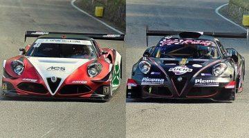Alfa Romeo 4C Verzegnis Hillclimb