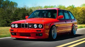 BMW E30 Stationwagen met M3-motor