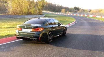 BMW M5 Competition Nordschleife Lap