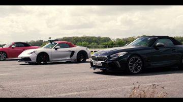 BMW Z4 M40i vs Porsche Boxster GTS vs Audi TT-S