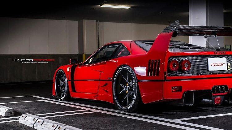 Ferrari F40 Hyper forged