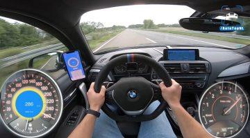 Getunede BMW M135i haalt 290 km