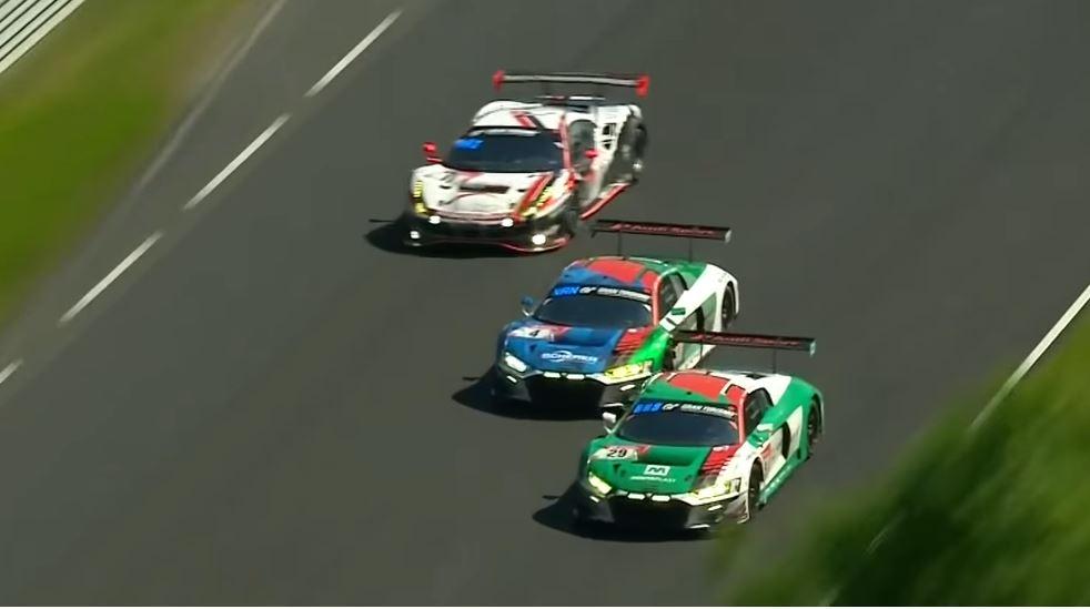 Het spectaculairste duel van de 24H Nürburgring 2019