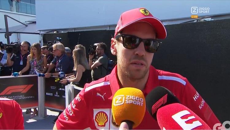Interviews met Vettel na GP van Canada 2019