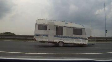 Losgeslagen caravan