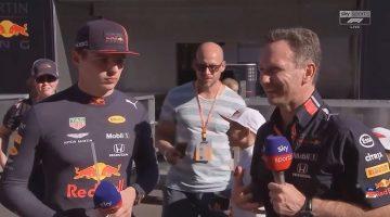 Max Verstappen & Christian Horner interview Oostenrijk 2019