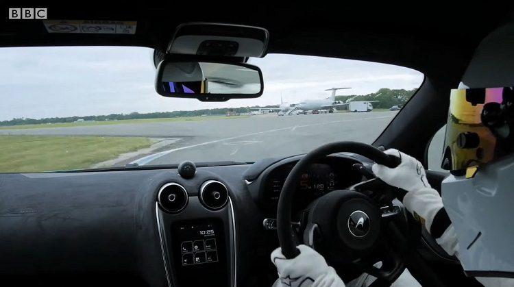 Onboard bij de The Stig in de McLaren 600LT