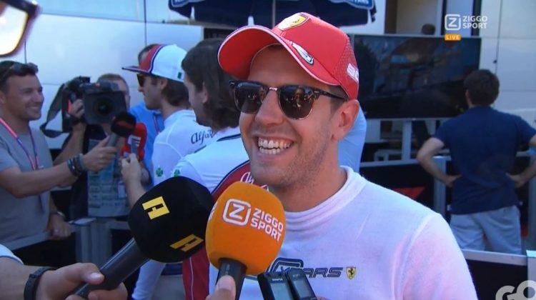 Sebastian Vettel interview Oostenrijk