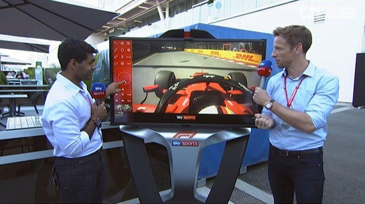 Sky Sports analyseert incident Vettel tijdens GP Canada