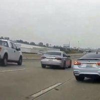Straatrace BMW M4 vs Audi S8