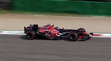 Toro Rosso STR1 de laatste F1-auto met een V10