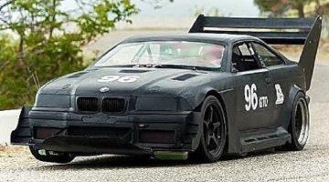 André Marziali BMW E36 Hillclimb