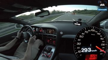 Audi RS6 V10 MTM Top Speed