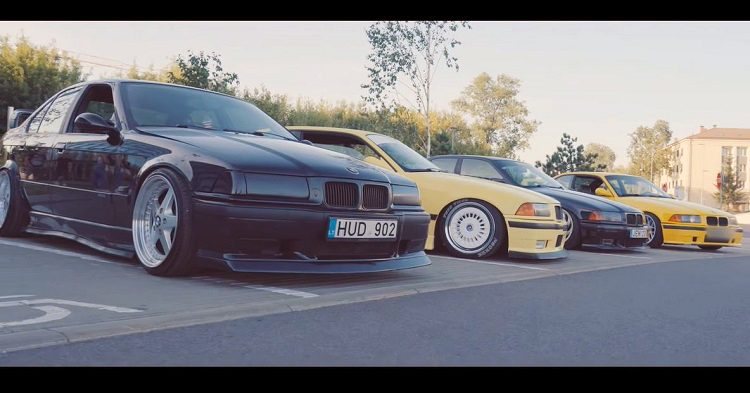 BMW E36 Meeting in Litouwen