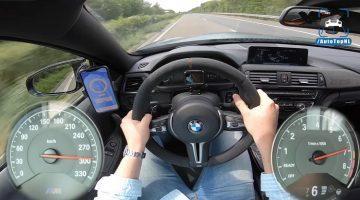 BMW M4 GTS Topsnelheid Autobahn