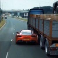 Ferrari 488 GTB doet 'Fast & Furious Stunt' na