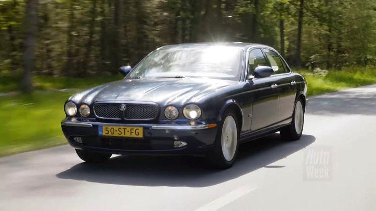 Jaguar XJ Klokje Rond