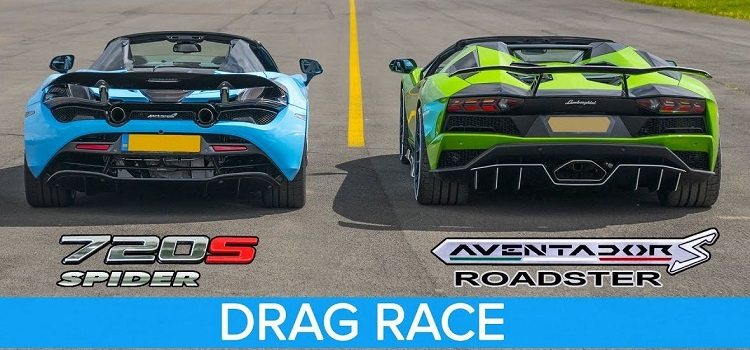 Lamborghini Aventador S Roadster vs McLaren 720S Spider