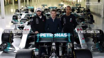 Lewis en Valtteri blikken terug op 10 jaar Mercedes-AMG F1