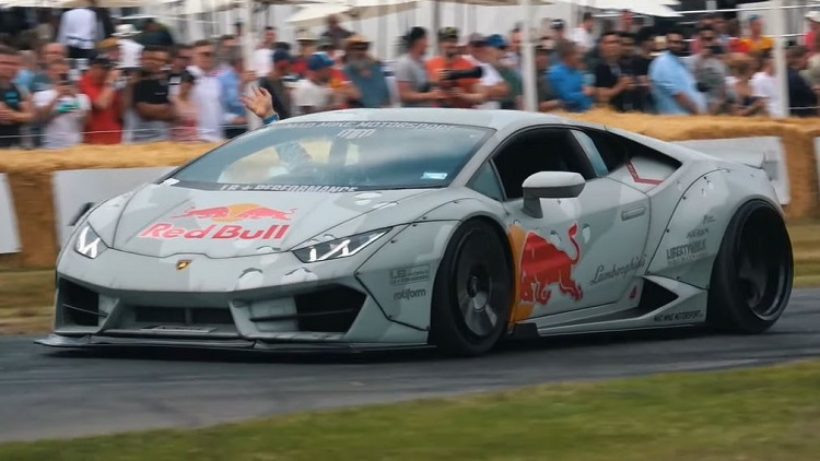 Mad Mike Lamborghini Huracan