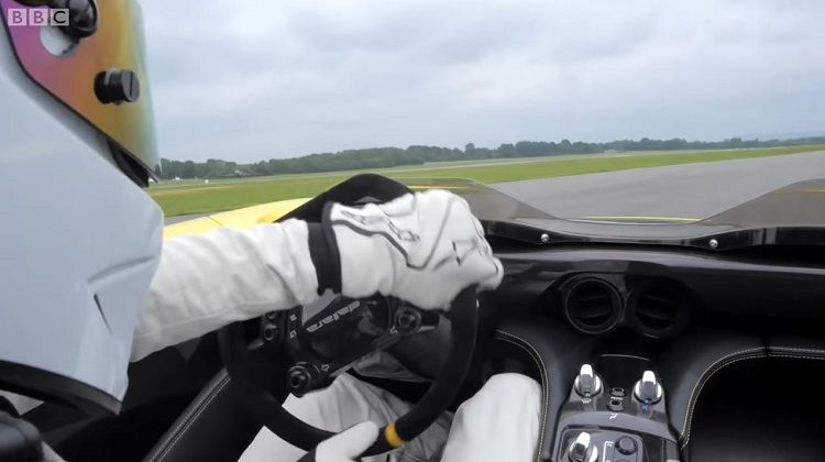 Onboard bij The Stig in de Dallara Stradale