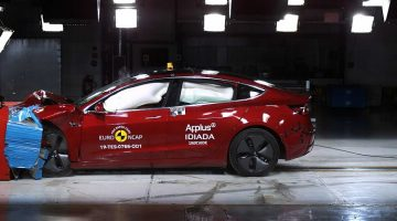 Tesla Model 3 Crashtest