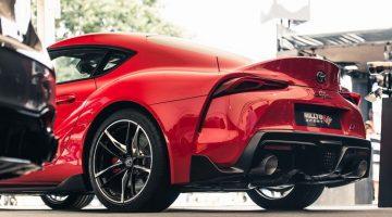 Toyota Supra Milltek Sport