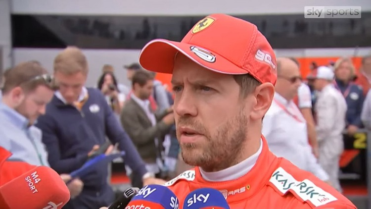 Vettel interview Sky Sports