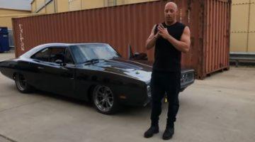 Vin Diesel ontvangt Speedkore Dodge Charger
