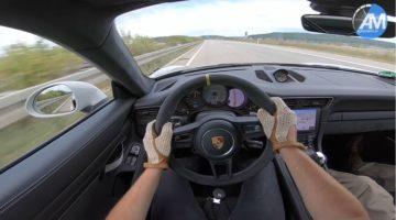 991.2 GT3 RS op de Autobahn