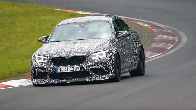 BMW M2 CS Gespot