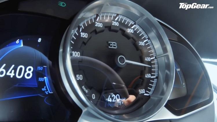 Bugatti Chiron Sport haalt 423 kmh op testbaan