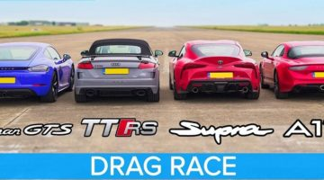 Cayman GTS vs TT RS vs Supra vs Litchfield A110