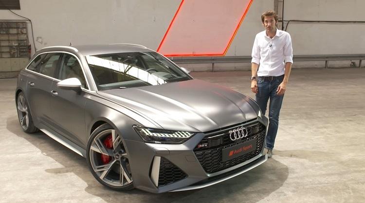 De nieuwe Audi RS6