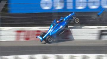 IndyCar 2019 - Pocono Highlights Crash
