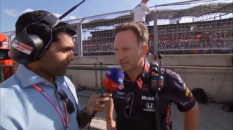 Interview met Christian Horner na de Grand Prix van Hongarije