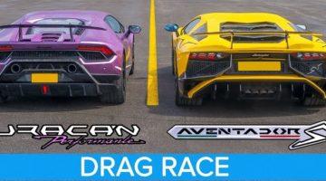 Lamborghini Aventador SV vs Huracan Performante
