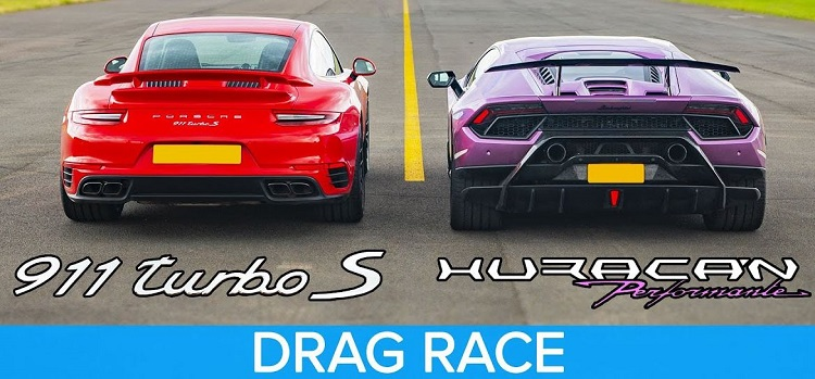 Lamborghini Huracan Performante vs Porsche 911 Turbo S