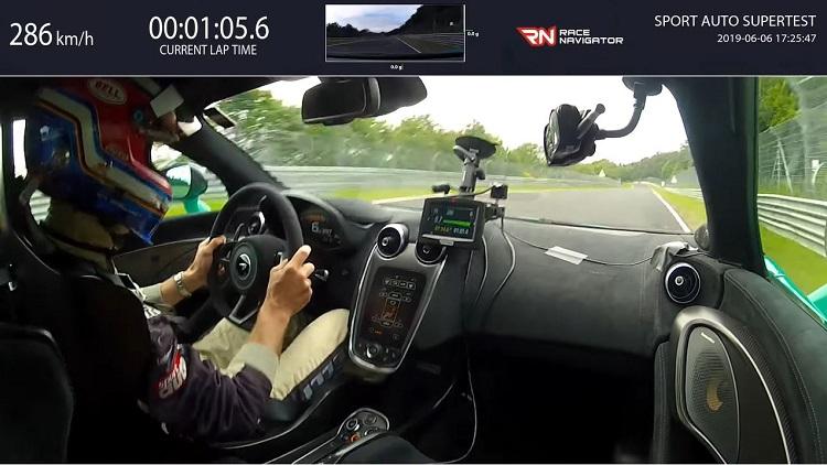 McLaren 600LT Nordschleife Lap