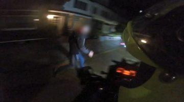 Motorrijder helpt politie bij aanhouding van inbreker
