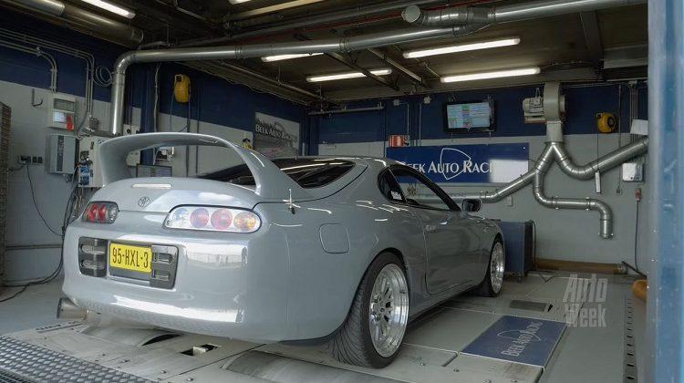 Op de Rollenbank - Toyota Supra