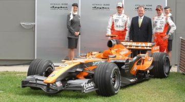 Spyker F1 - één jaar in de Formule 1