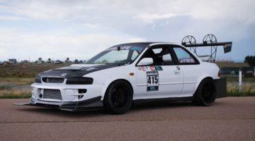 Subaru Impreza met wankelmotor