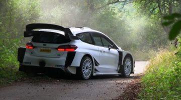 Valtteri Bottas test Ford Fiesta WRC