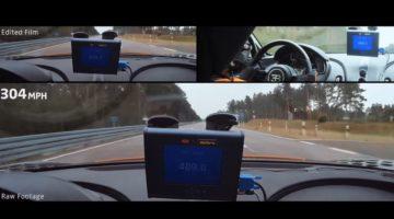 Aangepaste Bugatti Chriron tikt 490 kmh aan